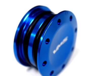 HONDA ACURA B16 B18 H22 F20 ENGINE BILLET RACE CAM PLUG DUAL O RING SEAL BLUE