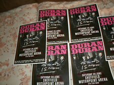 DURAN DURAN,ALL YOU NEED IS NOW TOUR FLYERS,SHEFFIELD MOTORPOINT ARENA,X 6