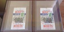 TMNT ROLETS PORK RINDS RARE TEENAGE MUTANT NINJA TURTLES MOVIE 1990 PROMOTION