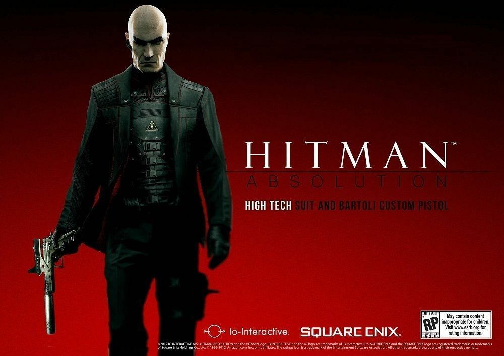 Hitman Absolution High Tech Suit Bartoli Pistol Dlc