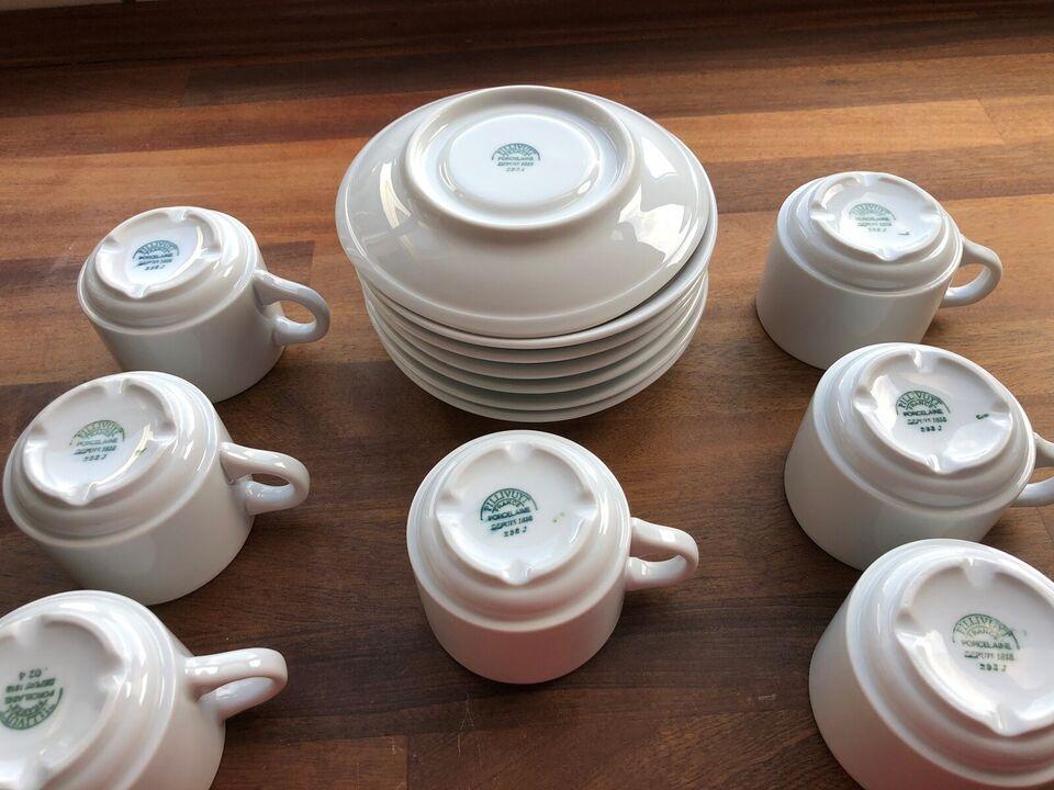 Porcelæn, Kaffekop, Pillivuyt