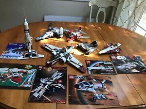 Lego-Star-Wars-Multi-Lot-7259-5935-7143-7656-7663-6454-EUC