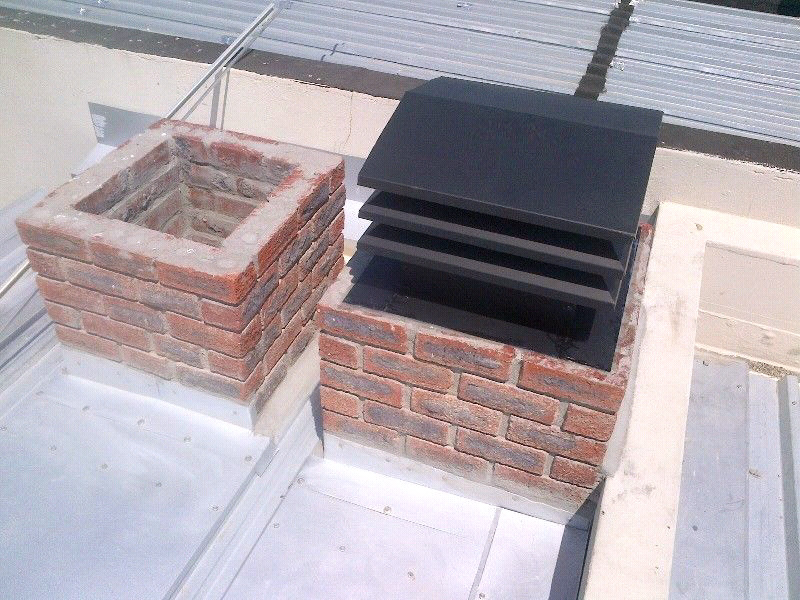 Turbo vent for smoking chimneys