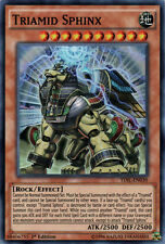 YuGiOh Triamid Sphinx - TDIL-EN030 - Super Rare - 1st Edition Near Mint
