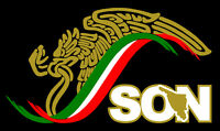 Mexico Escudo Car Window Vinyl Sticker Decal Gobierno Mex. Son Sonora