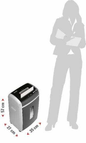intimus Confidential Aktenvernichter Partikelschnitt Büro Shredder