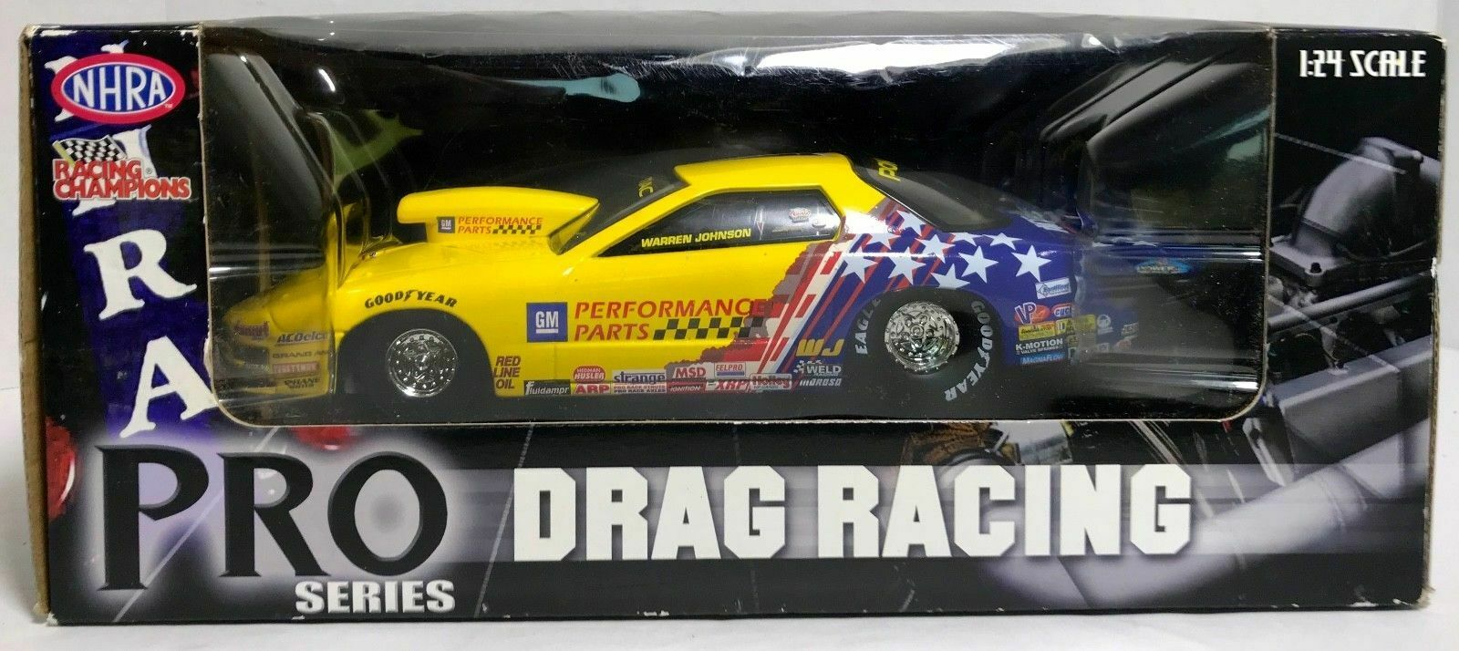 2006 Racing Champions NHRA Pro Stock Drag Warren Johnson 1 24  Scale Diecast Car