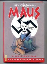 Maus: A Survivor's Tale  My Father Bleeds History   Art Spiegelman    HC