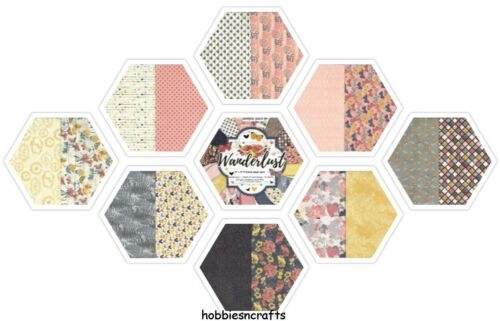 DOVECRAFT MOROCCAN SPICE PAPER 8 X 8 SAMPLE PACK POSTAGE DEAL 16 SHEETS