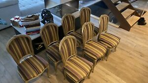 7 Dining Chairs Used Ebay