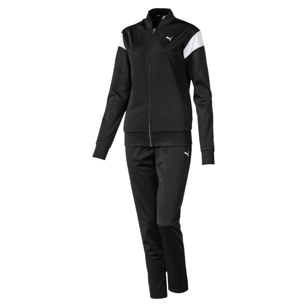 Puma Classic Tricot Suit Op Tuta sportiva Donna Nero S (puma Black)