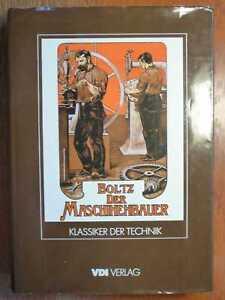 MASCHINENBAU-Der-Maschinenbauer-Atlas-Textband-von-Boltz-1984