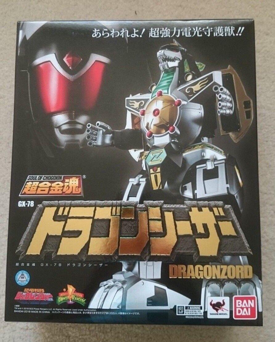 Soul of Chogokin GX-78 Dragon Caesar Dragonzord Brand New