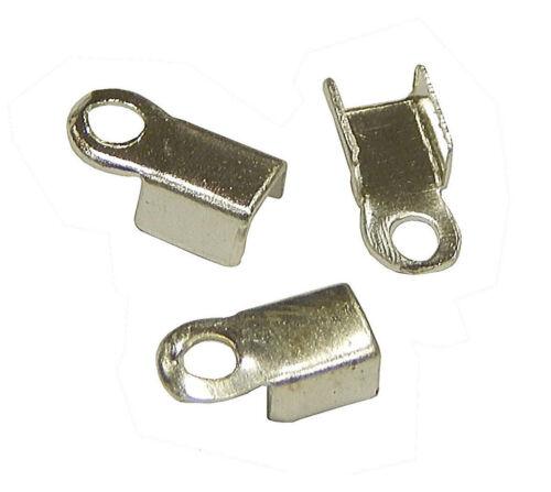 100 remates tapas de metal 6mm para collar pulseras joyas bricolaje Best m19