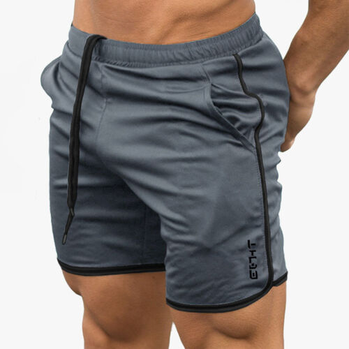 Mens Gym Training Shorts Workout Sports Casual Clothing Fitness Running Short BT