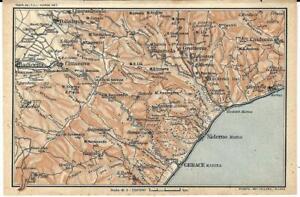 Reggio Calabria Cartina Geografica.Dettagli Su Gerace Marina Dintorni Locri Reggio Calabria Carta Geografica Touring Club 1928
