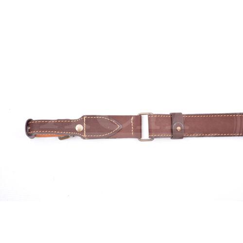 """/""""HSN/"""" 321 Pelle-fucile cinghie con lunghezza regolabile cintura armi Gun Sling"""