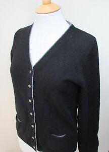Ladies-Dorce-Rich-Wool-Blend-Cardigan-Sweater-Green-Grey-Black-S-M-L-XL-BNWT