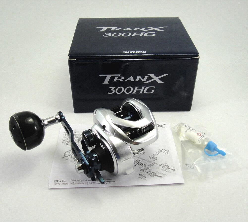 NEW SHIMANO TRANX 300HG A (RIGHT HANDED) REEL 7.6 1 TRX300AHG U.S SELLER