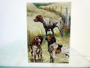 German Shorthaired Pointer Pair Notecards 6 Note Cards 6 Envelopes Ruth Maystead