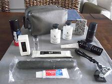 EMIRATES First Class BVLGARI Amenity Kit Washbag Trousse Neceser Kulturbeutel