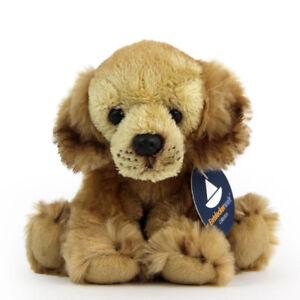 Stofftier-kleiner-Golden-Retriever-sitzend-Hund-Plueschtier-H-ca-12-cm