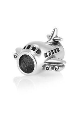Silber Flugzeug Anhänger Perle Für Armband Halskette, Zierlicher Silberfarbener Im In- Und Ausland FüR Exquisite Verarbeitung, Gekonntes Stricken Und Elegantes Design BerüHmt Zu Sein