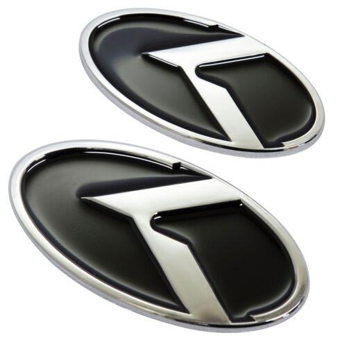 K Logo Hood Trunk accessories Emblems Badges 2EA Kia Optima Magentis 2006 2008