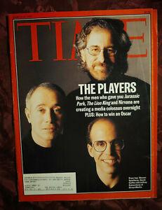 TIME magazine March 27 1995 Steven Speilberg David Geffen Jeffrey Katzenberg