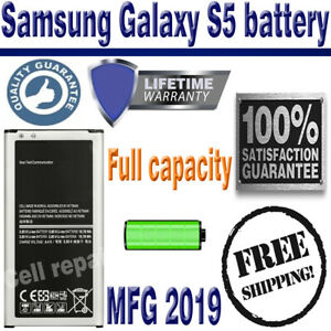Samsung-Galaxy-S5-Replacement-Battery-2800mAh-EB-BG900BBC-LifeTime-Warranty