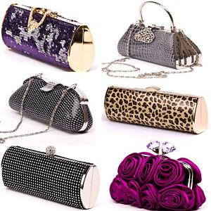Image Is Loading Las Occasion Handbags Designer Evening Wedding Formal Clutch