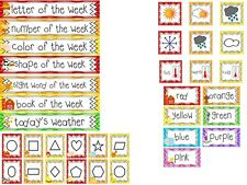 35 piece Farm theme Weekly Focus Learning Center Labels.Class Bulletin Board Set
