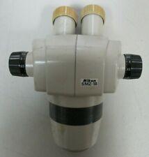 Nikon Smz 1b 08x 35x Microscope Head
