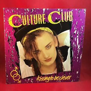 CULTURE-CLUB-Kissing-To-Be-Clever-UK-Vinyl-LP-EXCELLENT-CONDITION-BOY-GEORGE-aa