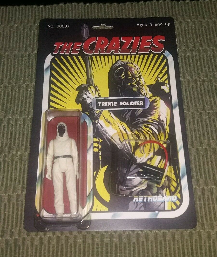 The Crazies Figure Toy Retroband MOC Resin Rare Horror