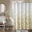 100-tissu-polyester-Design-Moderne-Lavable-Rideau-de-douche-avec-12-crochets miniature 14