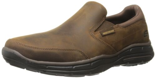 CalculousDark Skechers D 5 Brown8 889110073629 Relaxed medium Men's Glides Fit CexodB