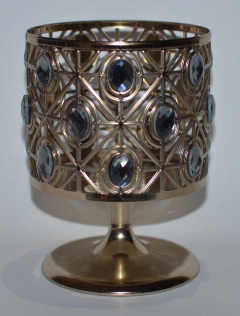 Bath Body Works Glittery Gems Pedestal Large 3 Wick Candle Holder Sleeve 14.5 Oz by Ebay Seller