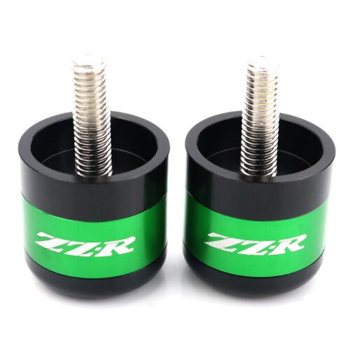 CNC Handle Bar End Weights Plug For Kawasaki ZZR1400 2006-2019 ZZR1200 2002-2005