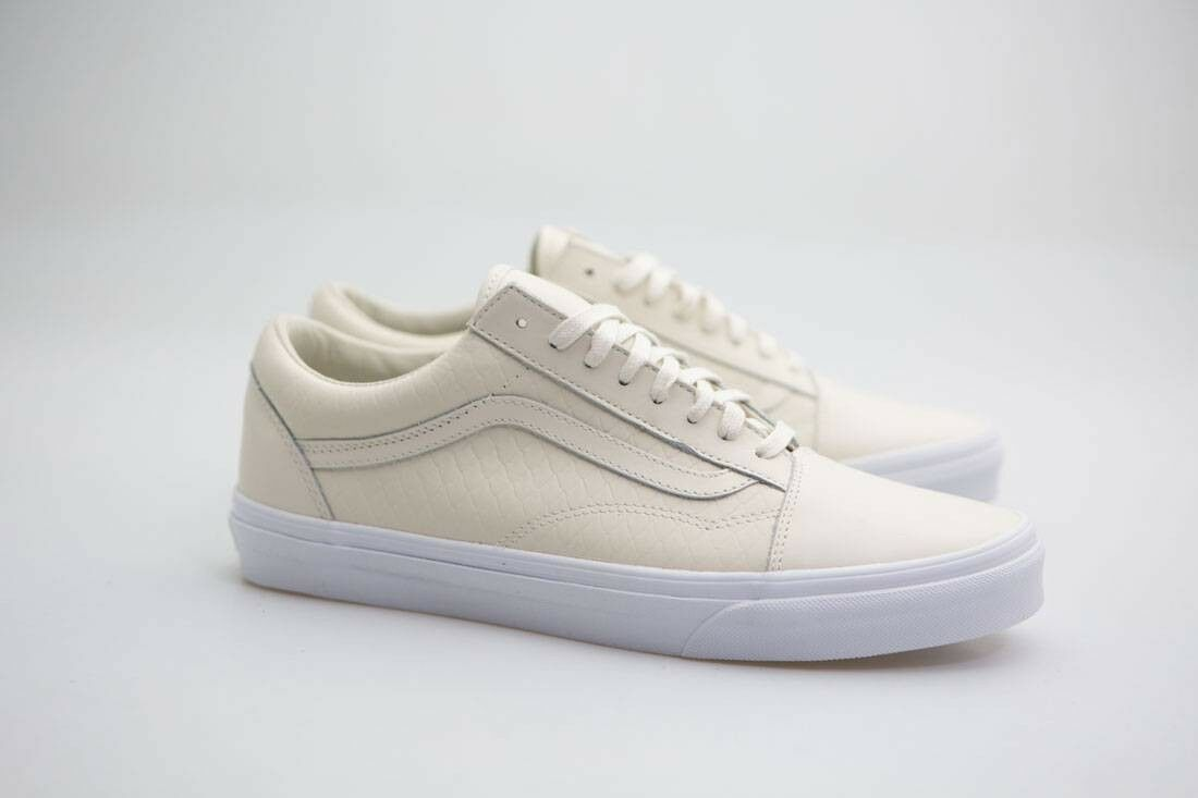Vans hommesOld Skool DX - Armor Leather green turtledove VN08G3MWP