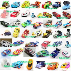 Disney-Pixar-Diecast-Cars1-Cars2-Red-Frank-John-Rare-ICar-King-DJ-Mater