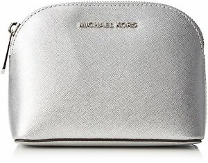 b2a68c94e832 ... cheapest image is loading michael kors cindy saffiano leather travel  pouch cosmetic 0e19a 423d2 ...