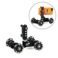 Ztylus Mini Dolly Pro Kit For Photo & Video Shots:smartphone Rig, Mini Ball Head