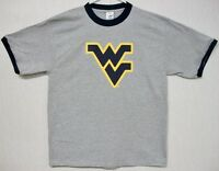Wvu West Virginia Mountaineer's Light Grey Tee-shirt