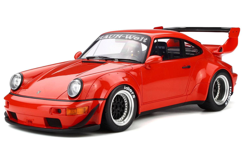 GT Spirit   Kyosho Porsche 964 RWB rojo KJ024 LE 300pcs 1 12 LARGE CARNew Item