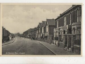 St Thomas Road Gosport Hampshire Vintage Postcard 653b - Aberystwyth, United Kingdom - St Thomas Road Gosport Hampshire Vintage Postcard 653b - Aberystwyth, United Kingdom