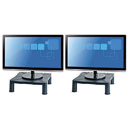 Halter Height Adjustable Monitor Stand   Printer Desk Shelf Riser For  Screens Up   EBay