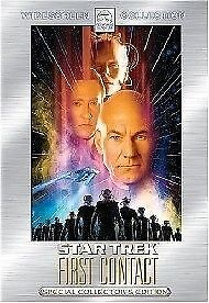 1 of 1 - STAR TREK: FIRST CONTACT DVD R4 Patrick Stewart Brand New Sealed Free Post