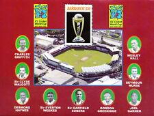 Barbados MNH SS, Cricket, Sports, Sobbers, Haynes, Weekes