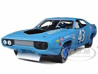 1971 Plymouth Road Runner Richard Petty Blue/pepsi 43 1/18 By Autoworld Aw202